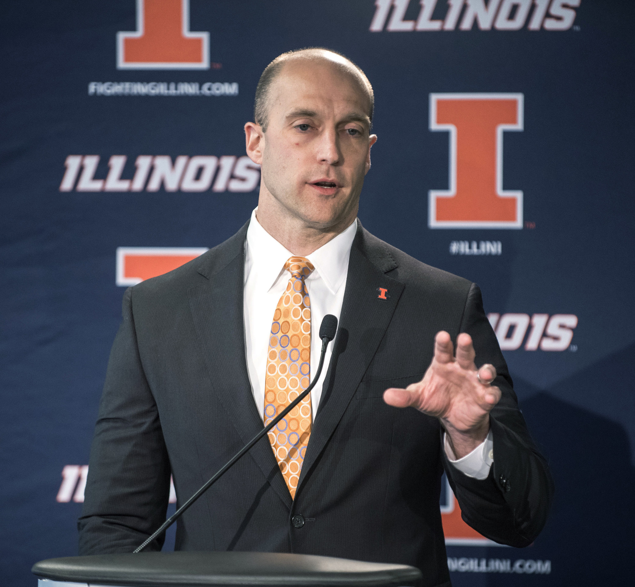 Q&A with Illini AD Josh Whitman on Friday night games, early recruiting new mascot and more