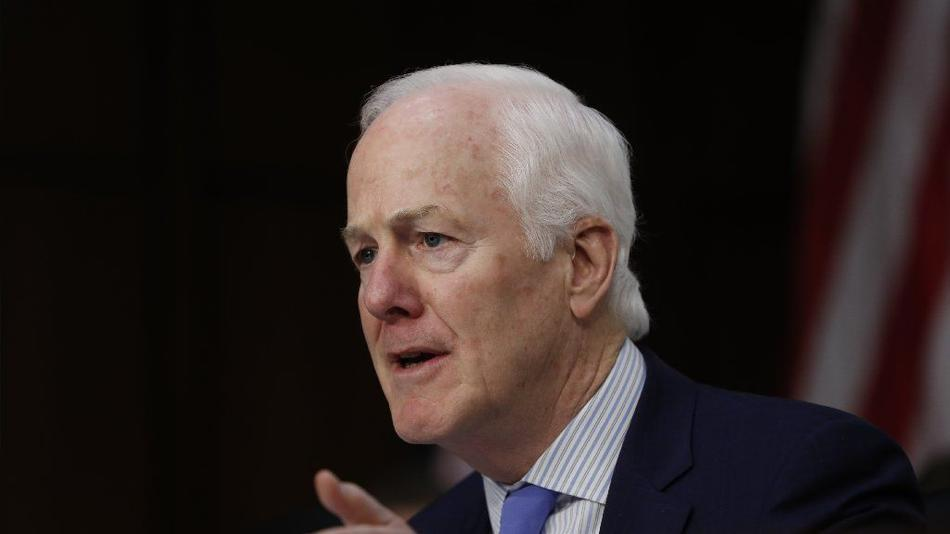 Republican Sen. John Cornyn of Texas. (Pablo Martinez Monsivais / Associated Press)