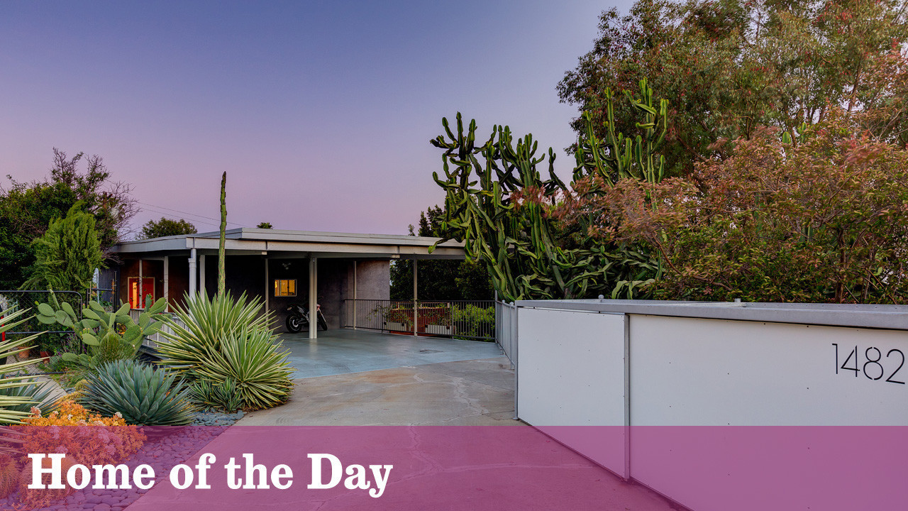 Midcentury Modern Classic Reboots As A Hipster Haven In Silver - Midcentury modern la