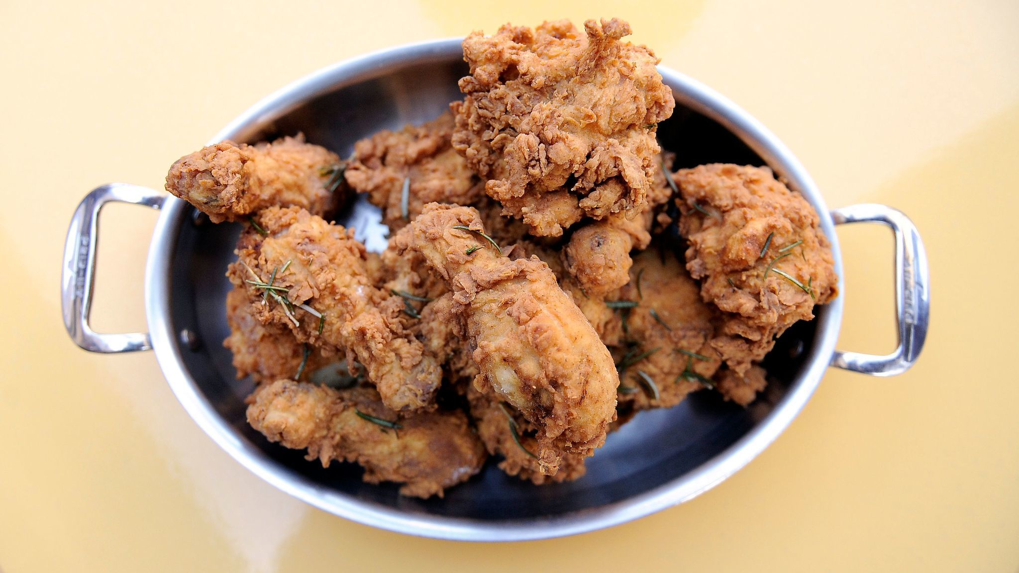 Bouchon serves fried chicken every Monday night.