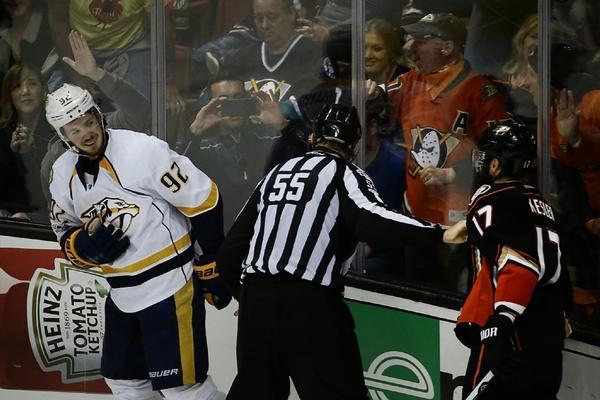 Amid Ducks-Nashville Series, Attention Turns To Kesler Vs. Johansen As Game 3 Looms