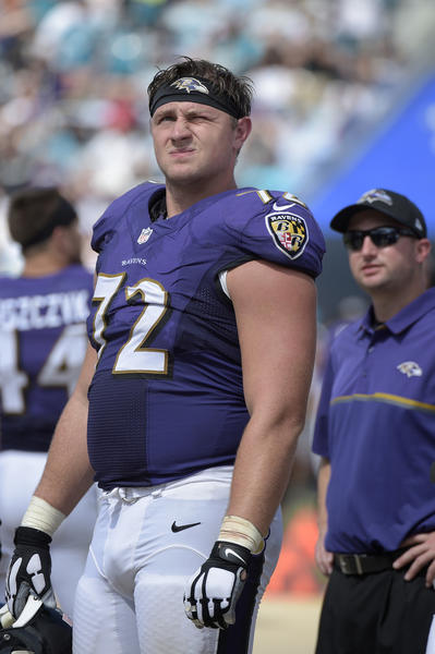 Ravens have to decide whether moving Alex Lewis to tackle is best thing to do