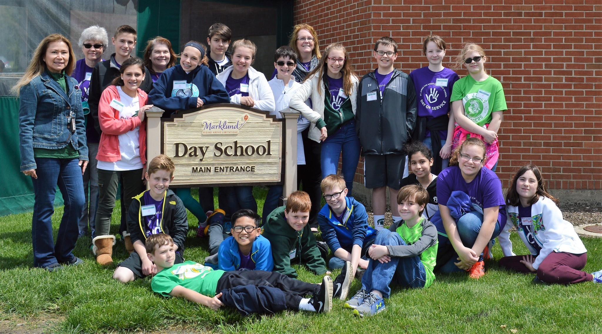 Students From Marklund Day School And St. James The Apostle Catholic School  Come Together For Day Of Fun   Chicago Tribune