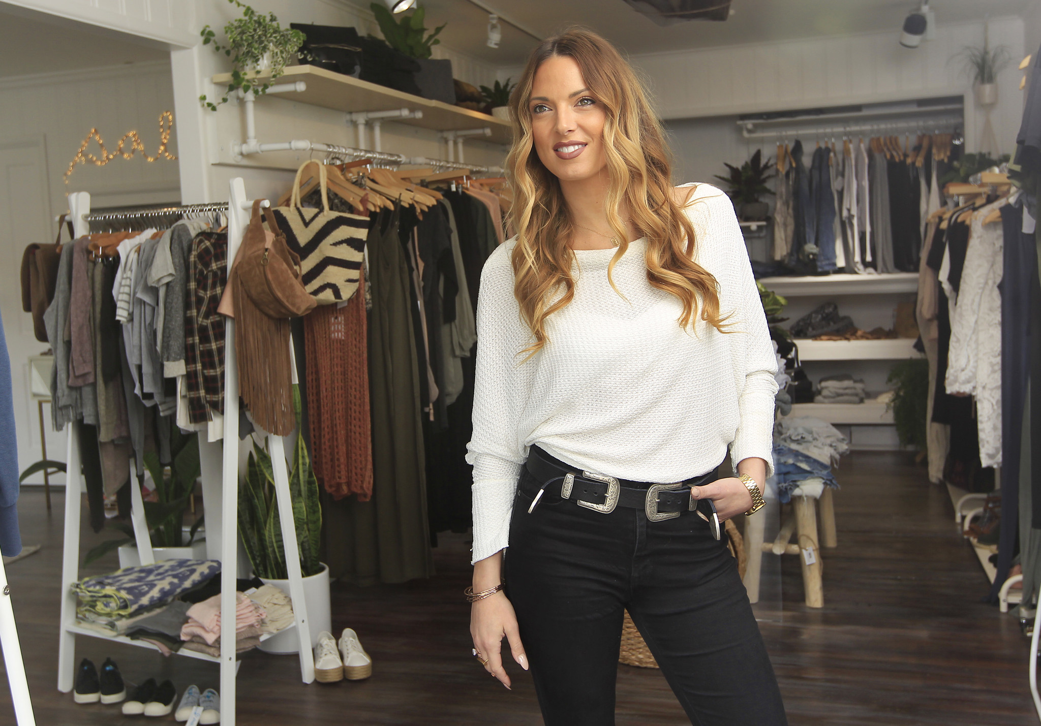 Rob Machado's wife opens global boutique