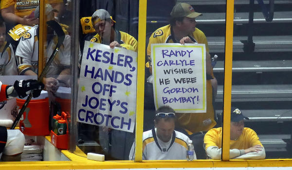 NHL Playoff Notes: Predators' Arena Has A Special Feel To It