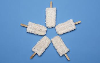 Coconut paletas