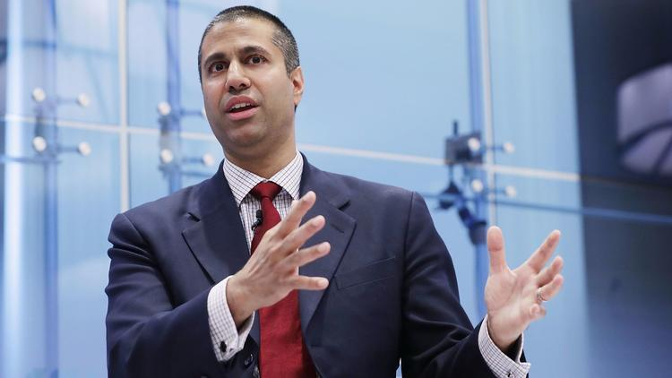 FCC Chairman Ajit Pai (Chip Somodevilla / Getty Images)