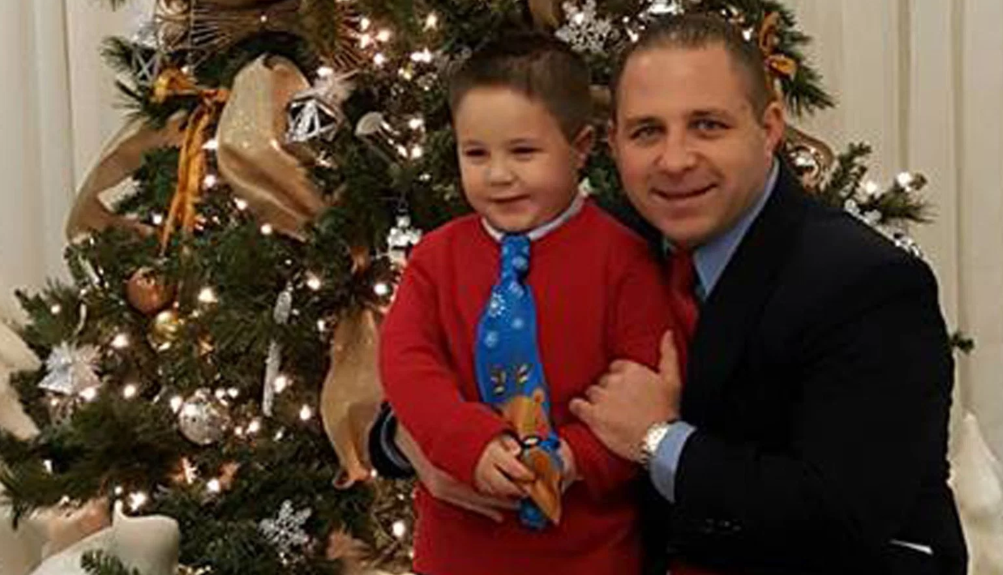 Aramazd Andressian Sr. and his son are seen in a family photo.
