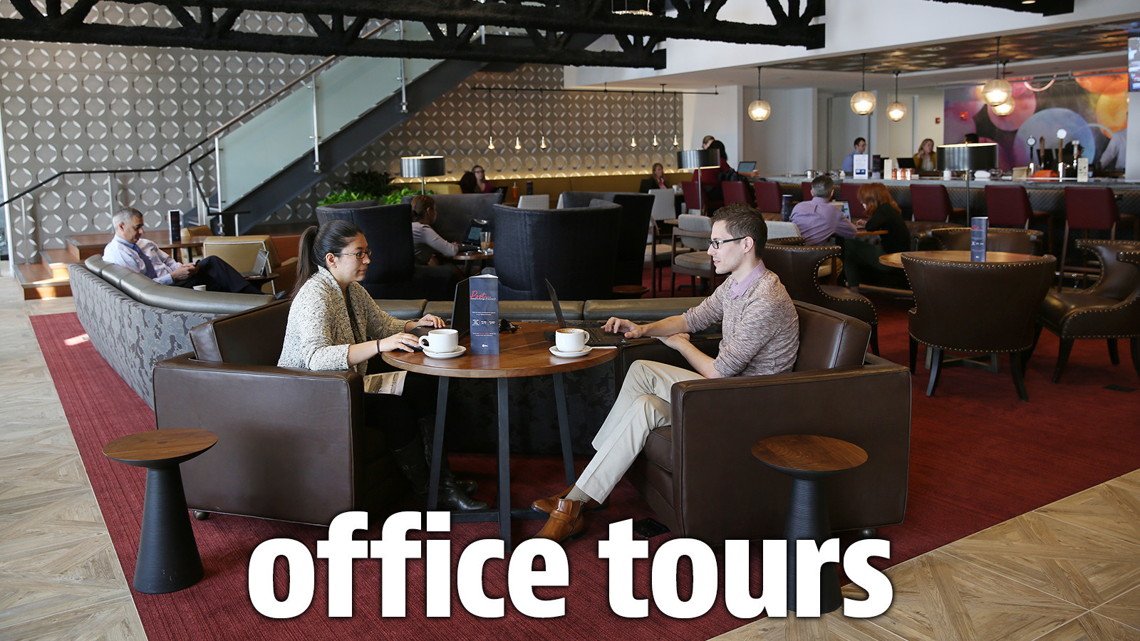 tour stylish office los. JLL Brings Tech-world Touches To Its Own Very Grownup Company · Blue Sky Office Tours Tour Stylish Los