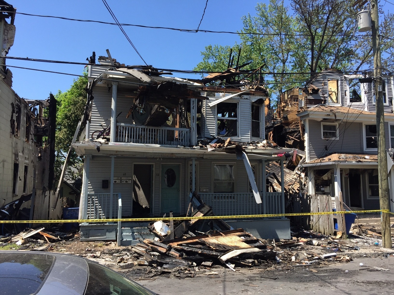 Waterbury fire investigation begins residents face for The waterbury