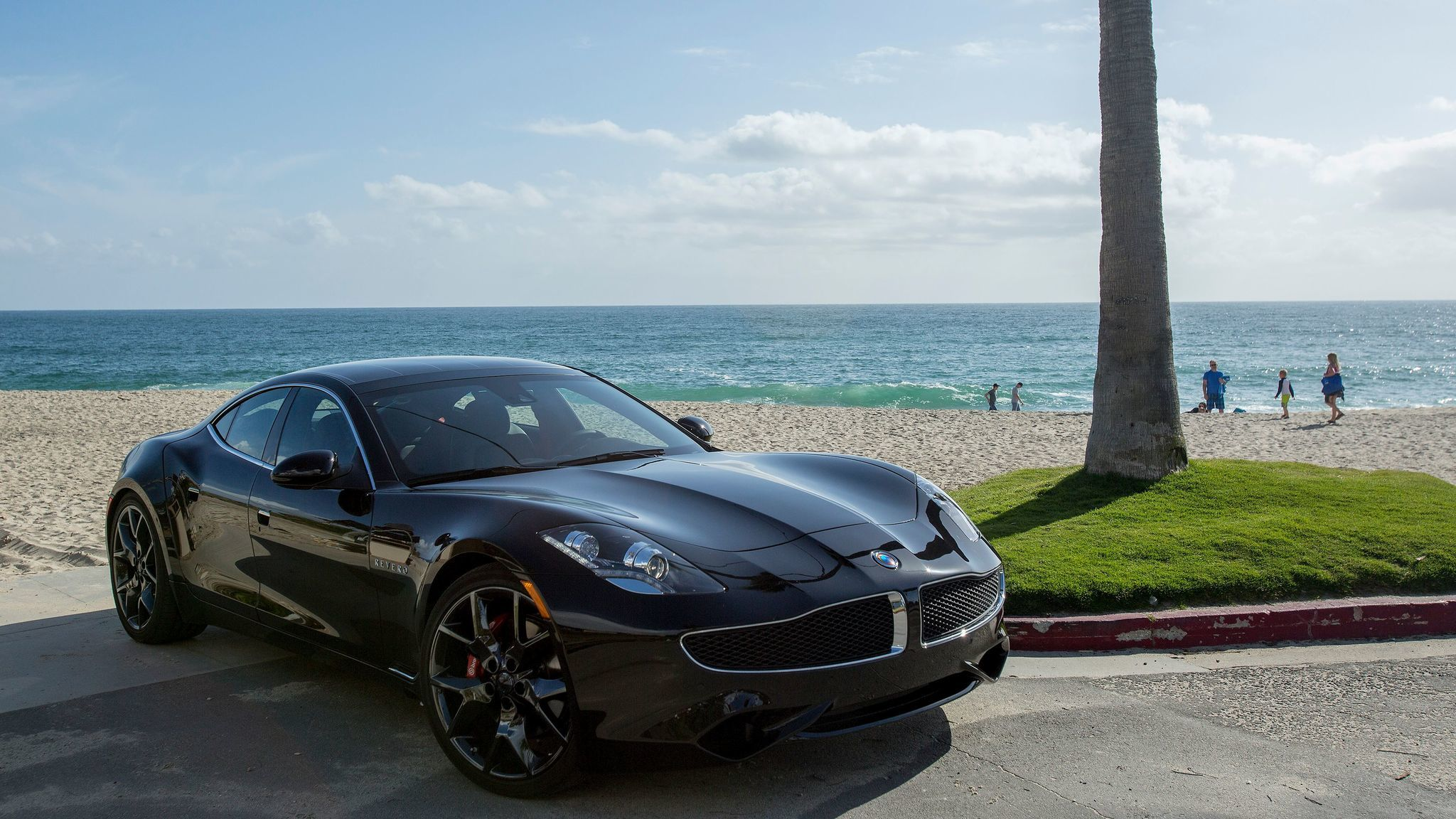 The sleek, low slung Revero features design language from the pen of Henrik Fisker, whose company of that name built the original Karma.