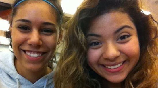 Samantha Welch and Celia Reyes