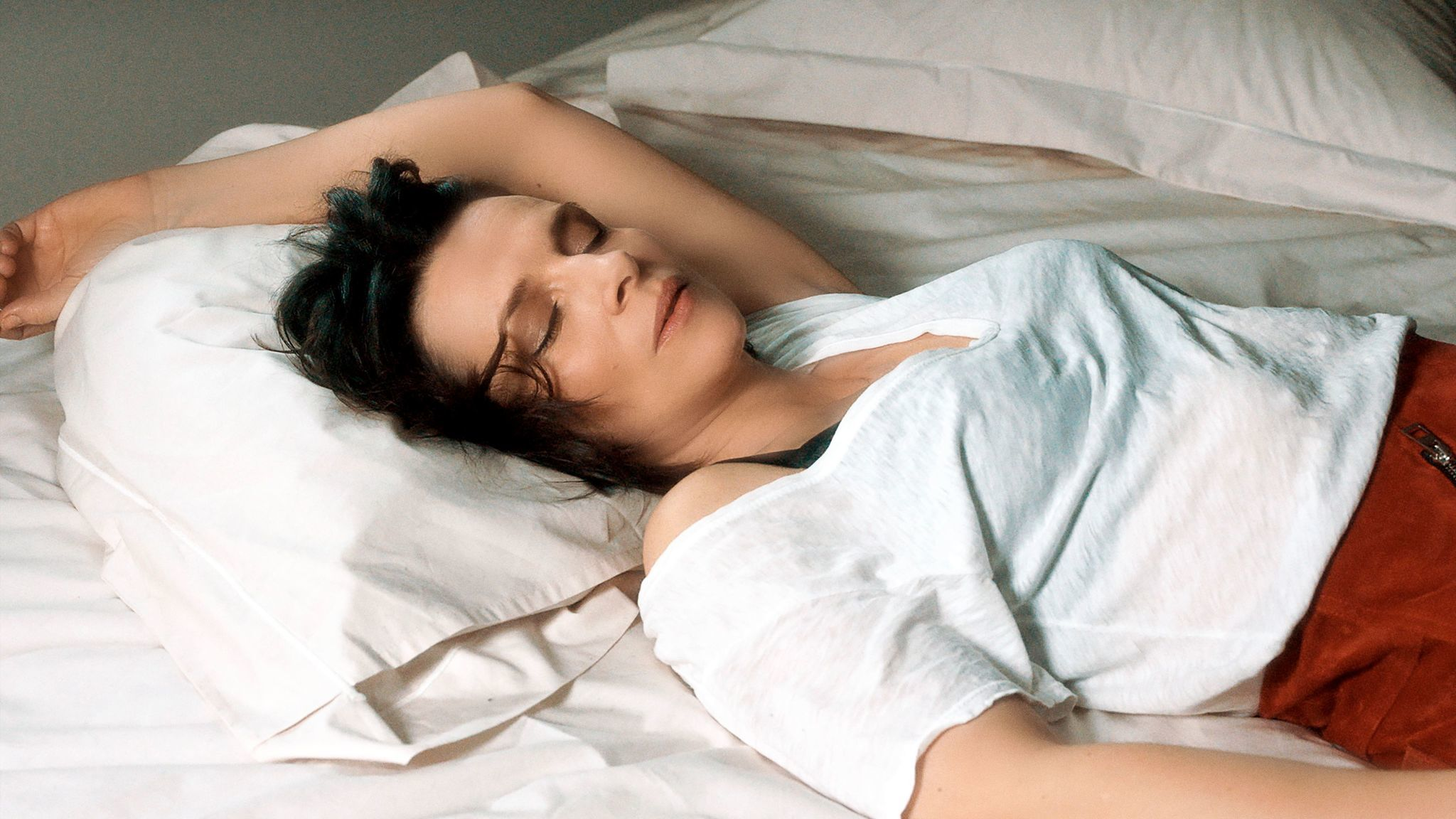 "Juliette Binoche in the film ""Let the Sunshine In."""