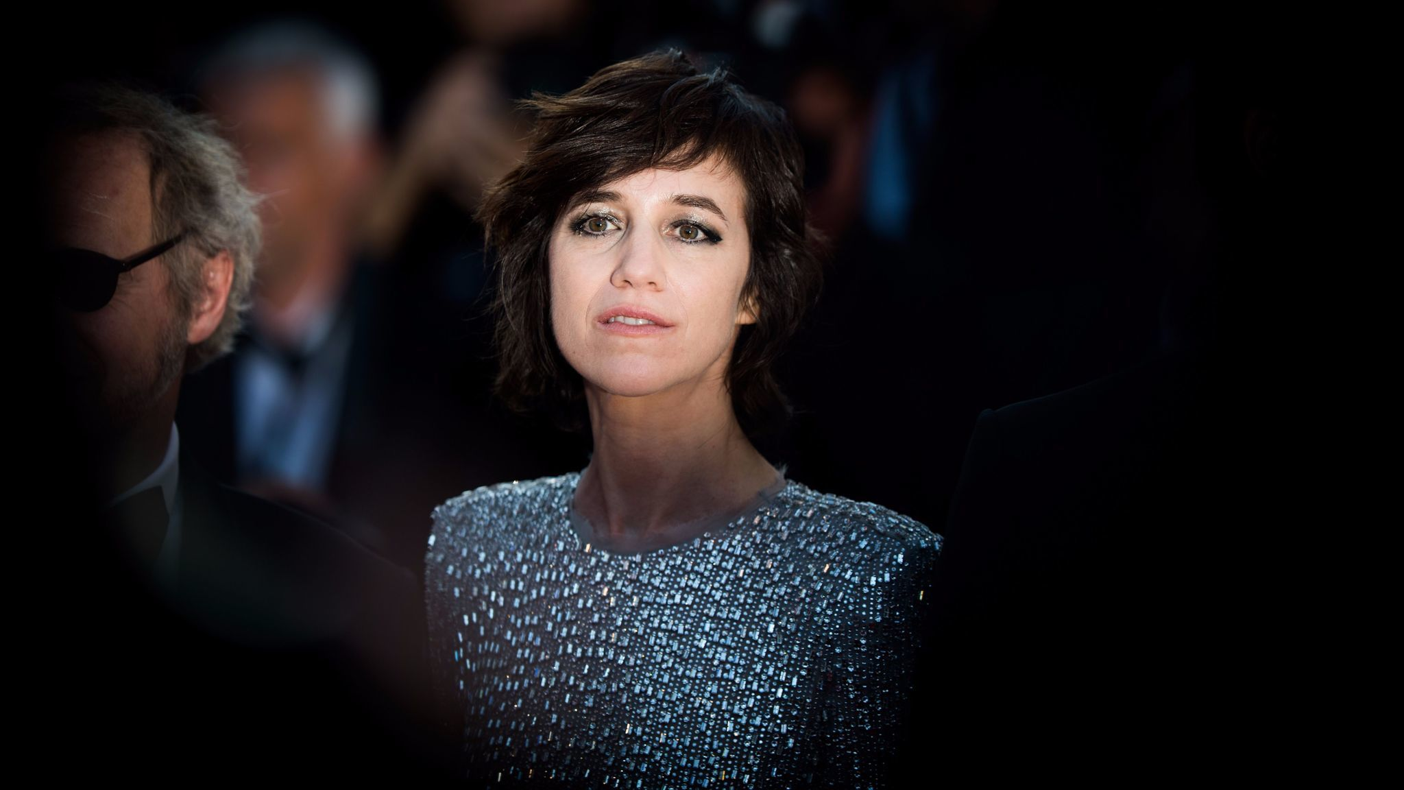 "Charlotte Gainsbourg at the ""Ismael's Ghosts (Les Fantomes d'Ismael)"" screening and opening gala during the 70th annual Cannes Film Festival."