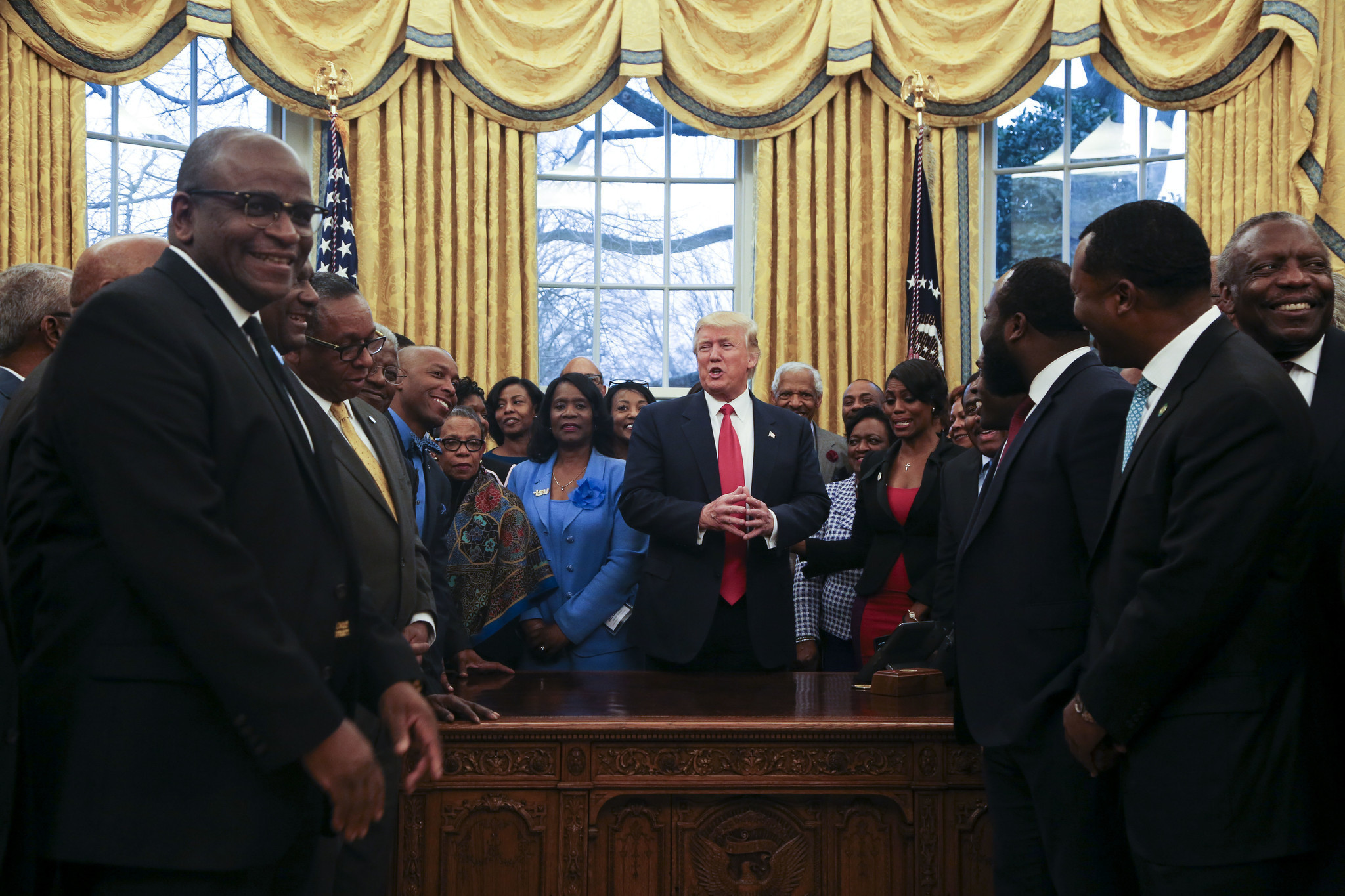 Historically black colleges view Trump administration warily, but also with some optimism