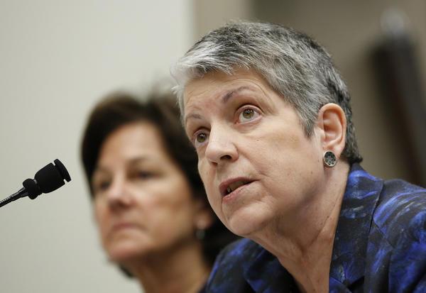 UC President Janet Napolitano (Rich Pedroncelli / Associated Pres)