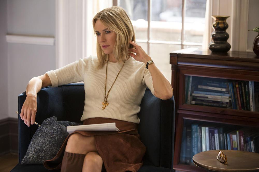 "Naomi Watts in ""Gypsy."" (Alison Cohen Rosa / Netflix)"