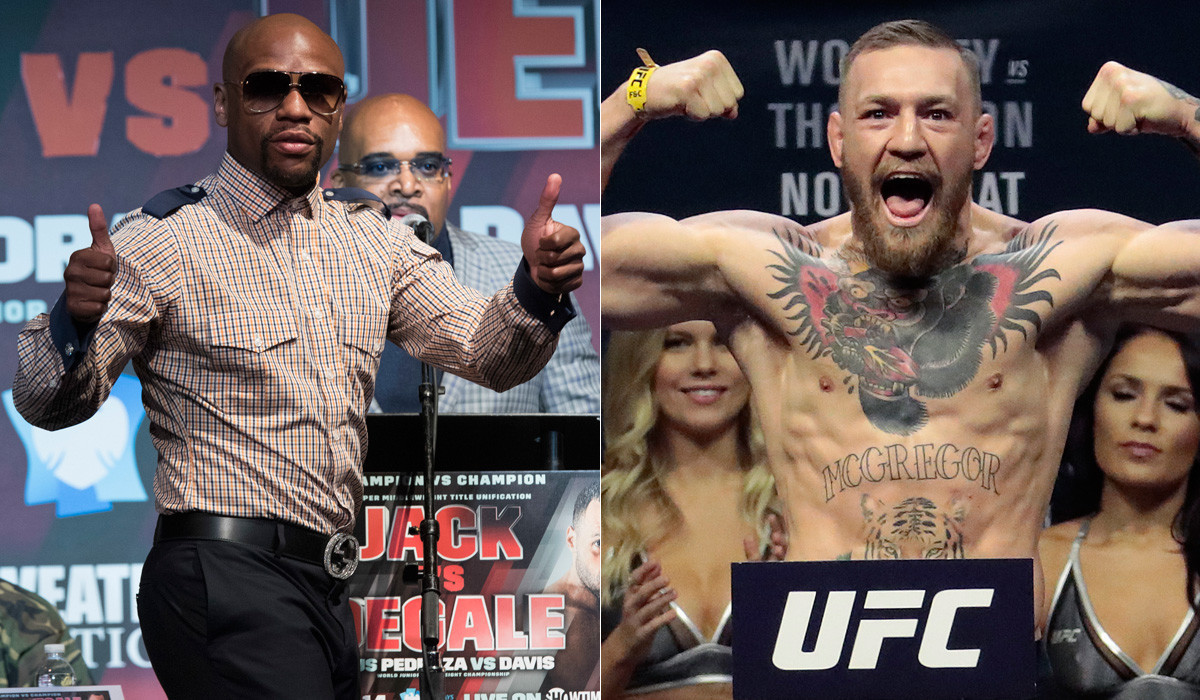La-sp-sn-ufc-boxing-conor-mcgregor-dana-white-floyd-mayweather-manny-pacquiao-20170519