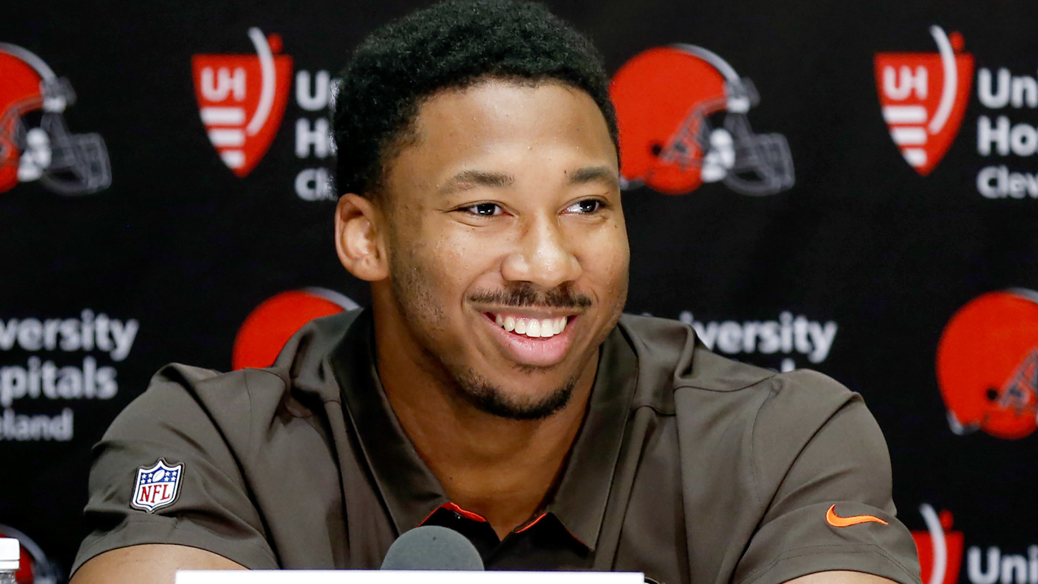 NFL: First overall draft pick Myles Garrett signs $30.4-million contract with Browns