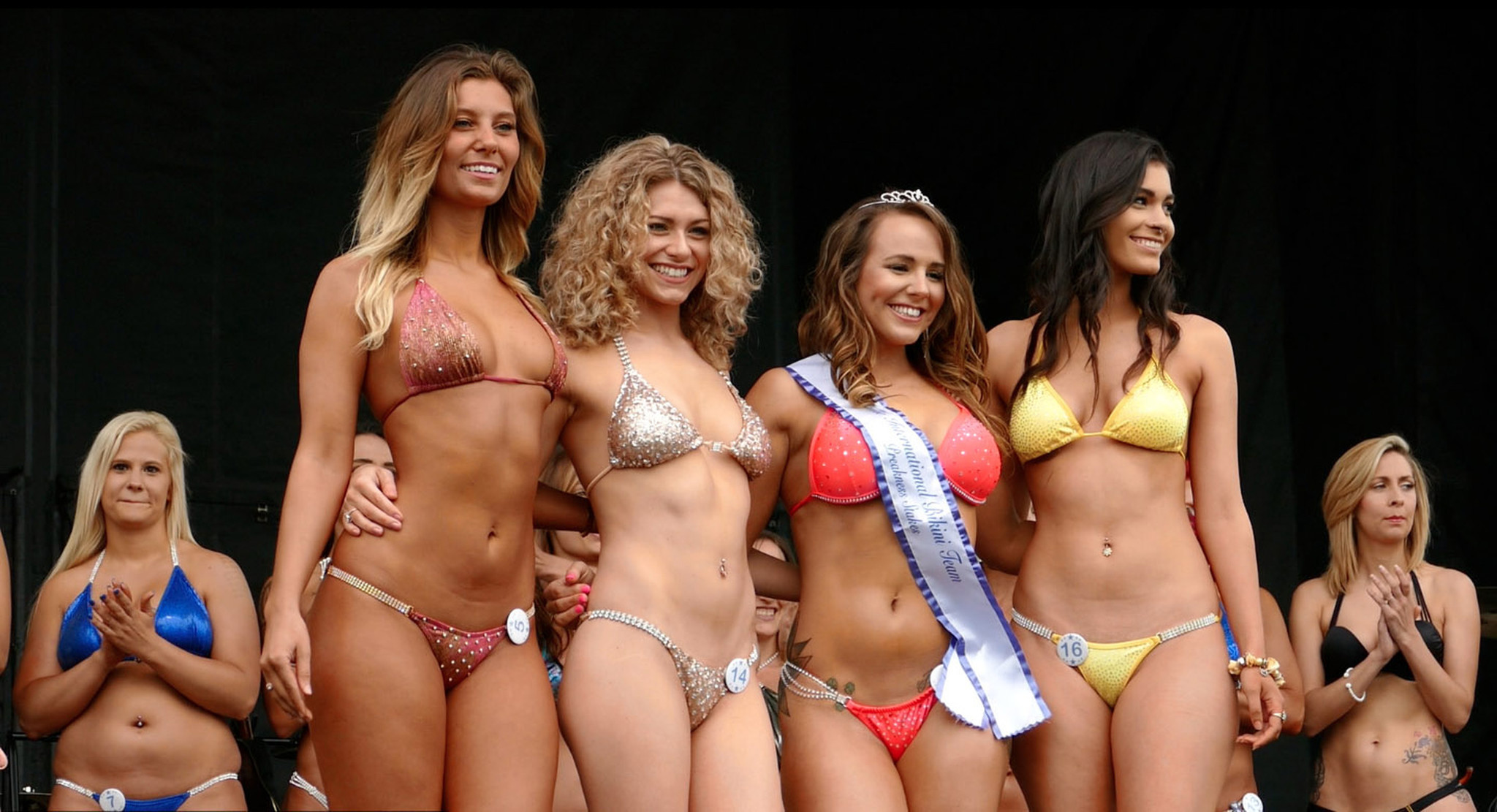 Galer as bikini contest