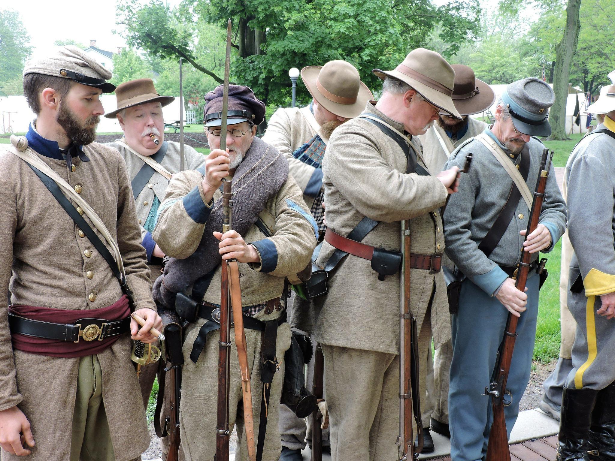 Naperville Civil War Reenactment Naperville Sun