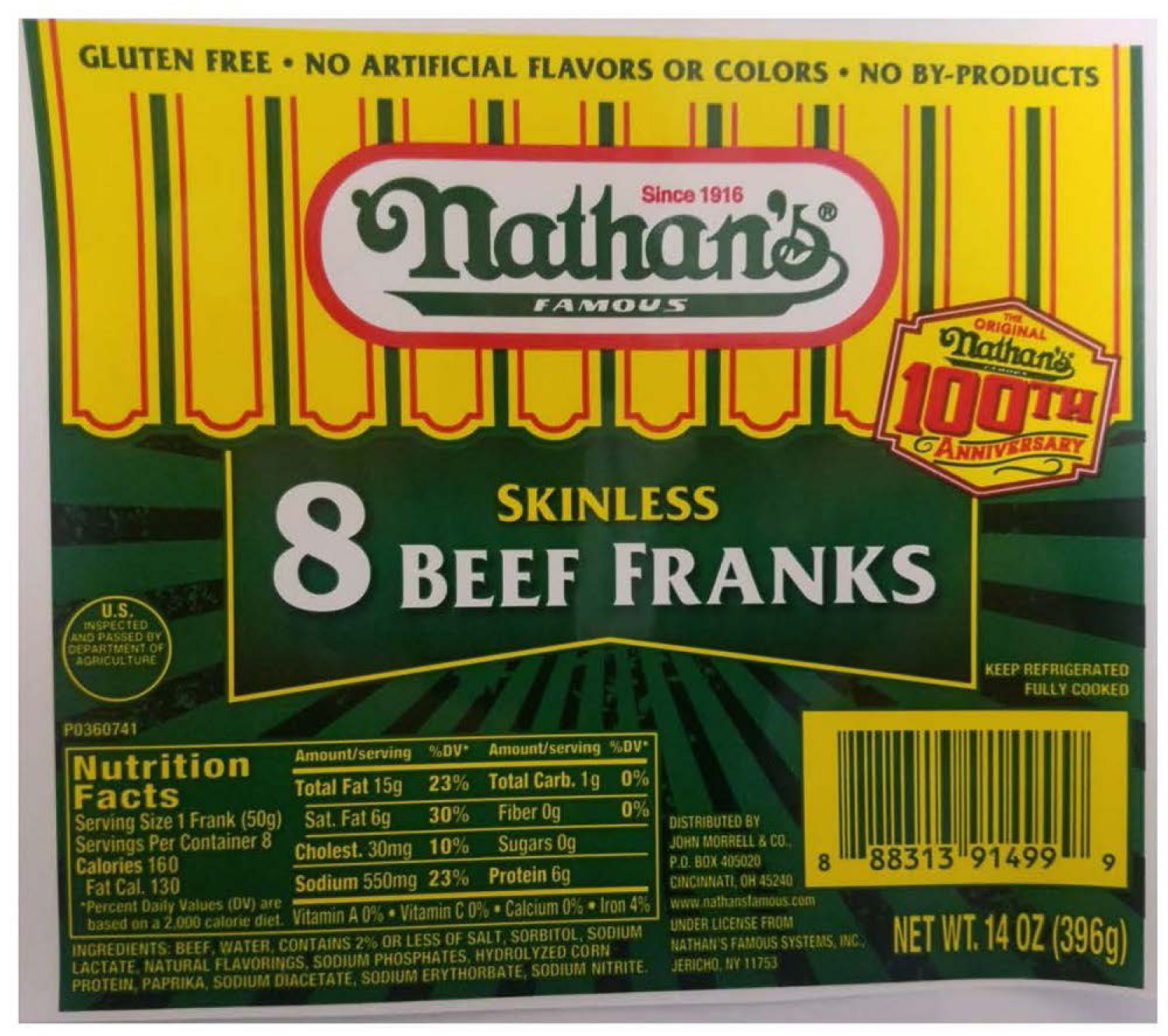 Nathan S Hot Dogs Being Recalled