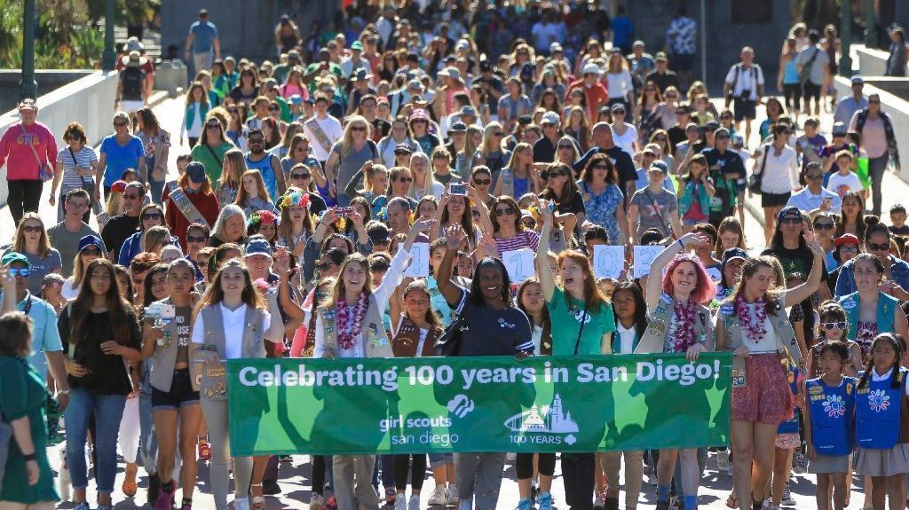 girl scouts celebrate 100 years in san diego   the san