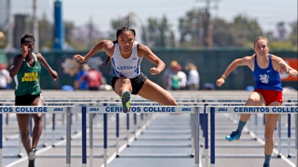 Agoura's Tara Davis has no equal at the Southern Section track and field finals