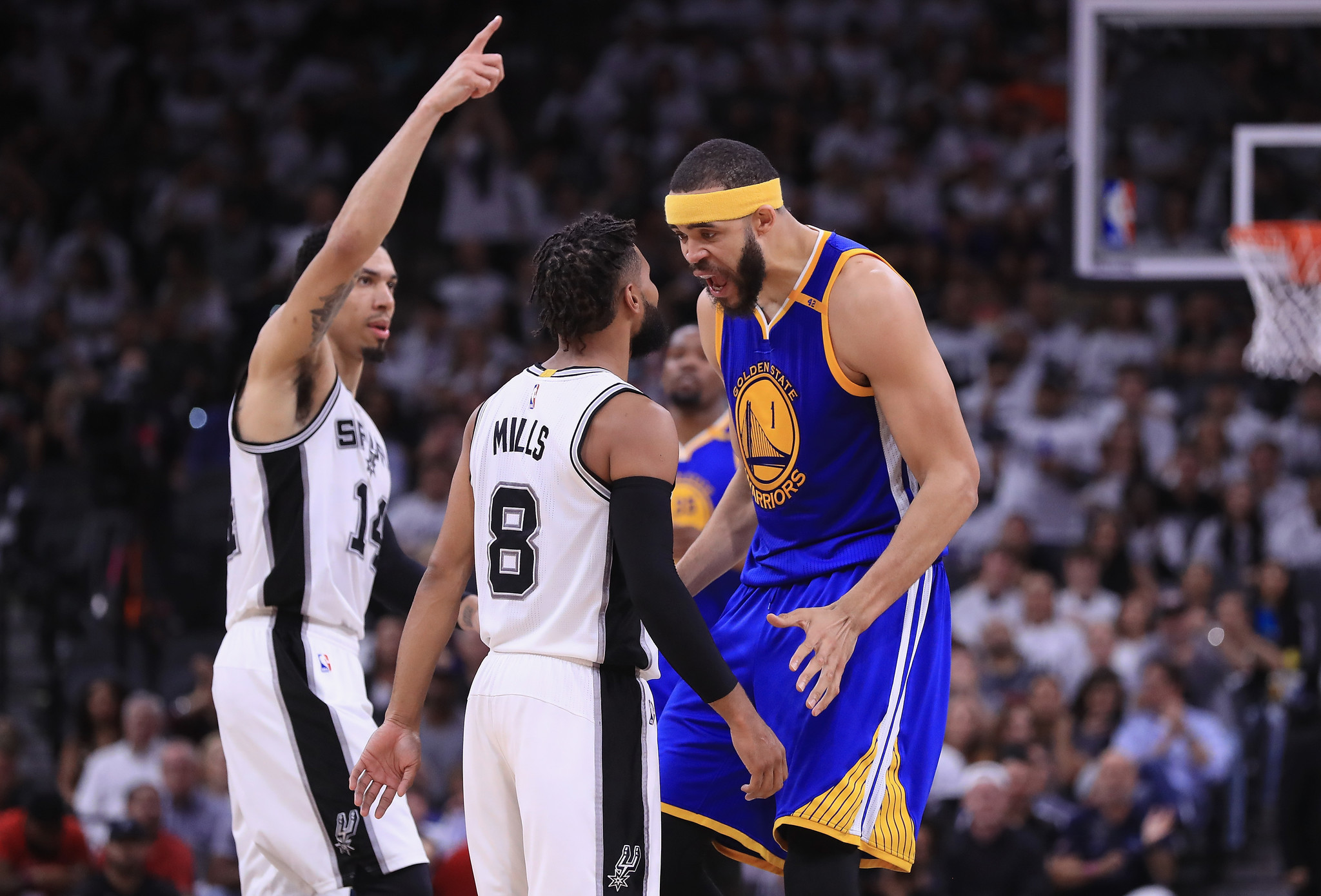 Warriors continue undefeated postseason with 120-108 Game ...
