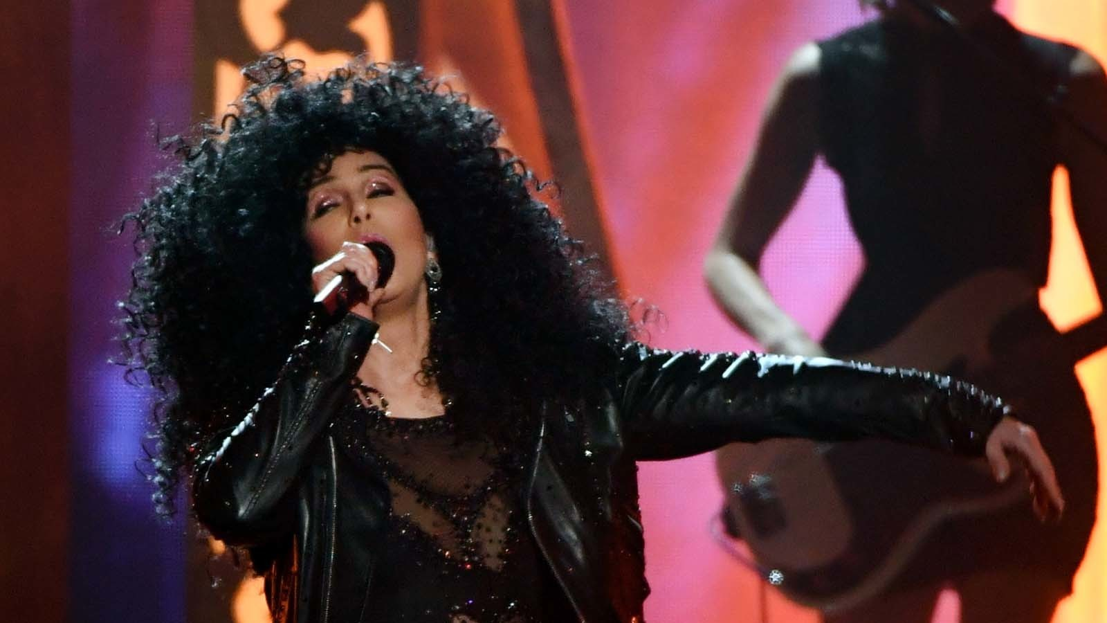 Cher performs at the 2017 Billboard Music Awards. (Ethan Miller / Getty Images)