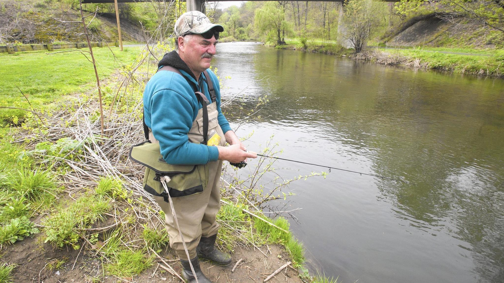 Fish for free on july 4 best spots in the lehigh valley for Pa fishing license prices