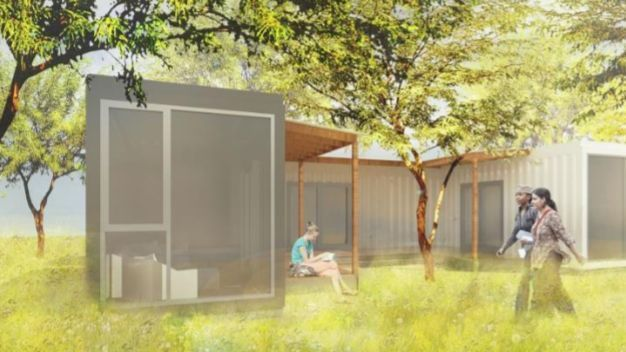 La developer says officials rejected her ideas for affordable housing in san diego the san - Container homes san diego ...