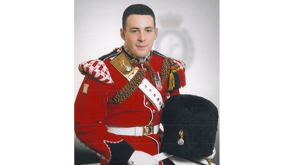 Drummer Lee Rigby, who was killed in an attack on a London street on May 22, 2013.
