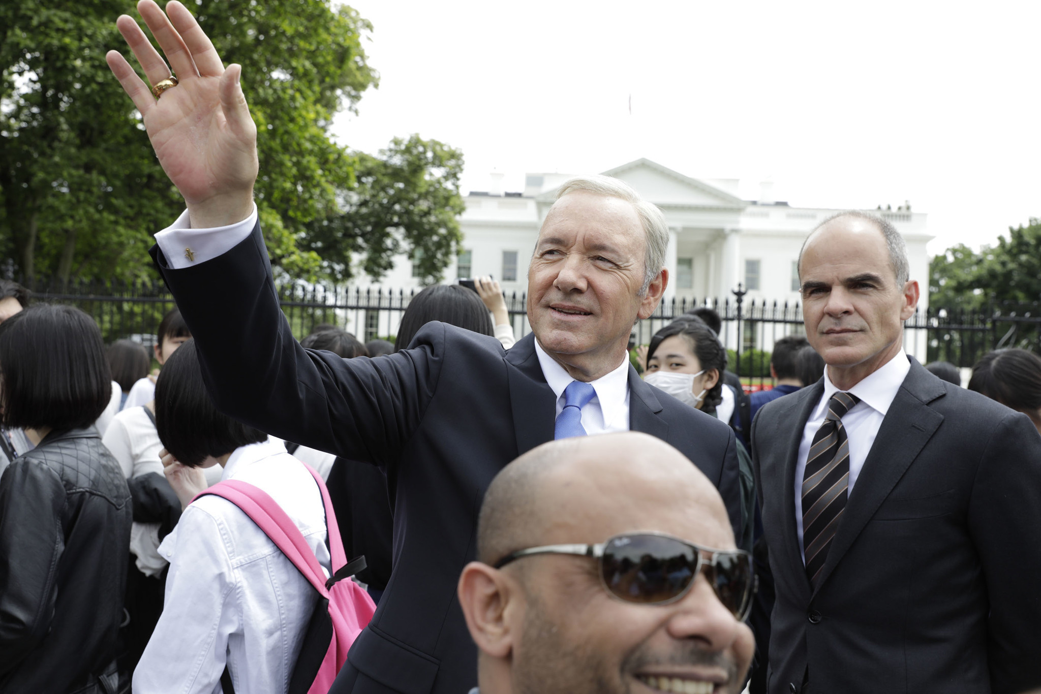 Kevin Spacey Ventures Out In Washington For Presidential Photo Shoot As U0027 House Of Cardsu0027 Character   Baltimore Sun