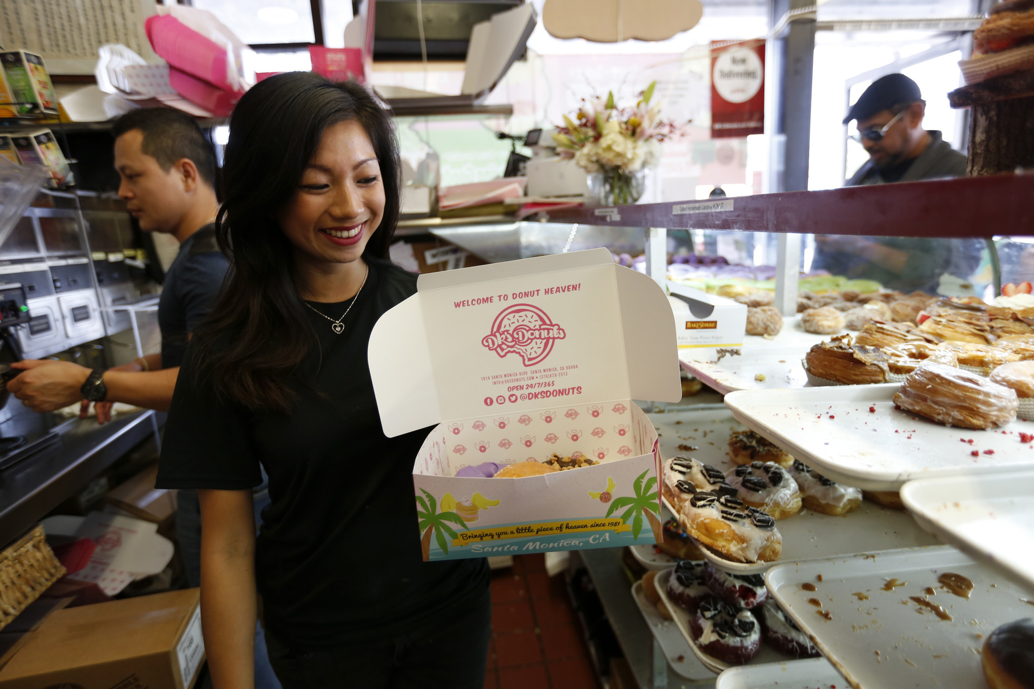 Why are doughnut boxes pink? The answer could only come out of Southern California