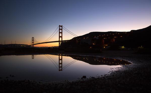 Golden Gate Bridge is No. 1 landmark among TripAdvisor travelers. And Alcatraz is No. 3