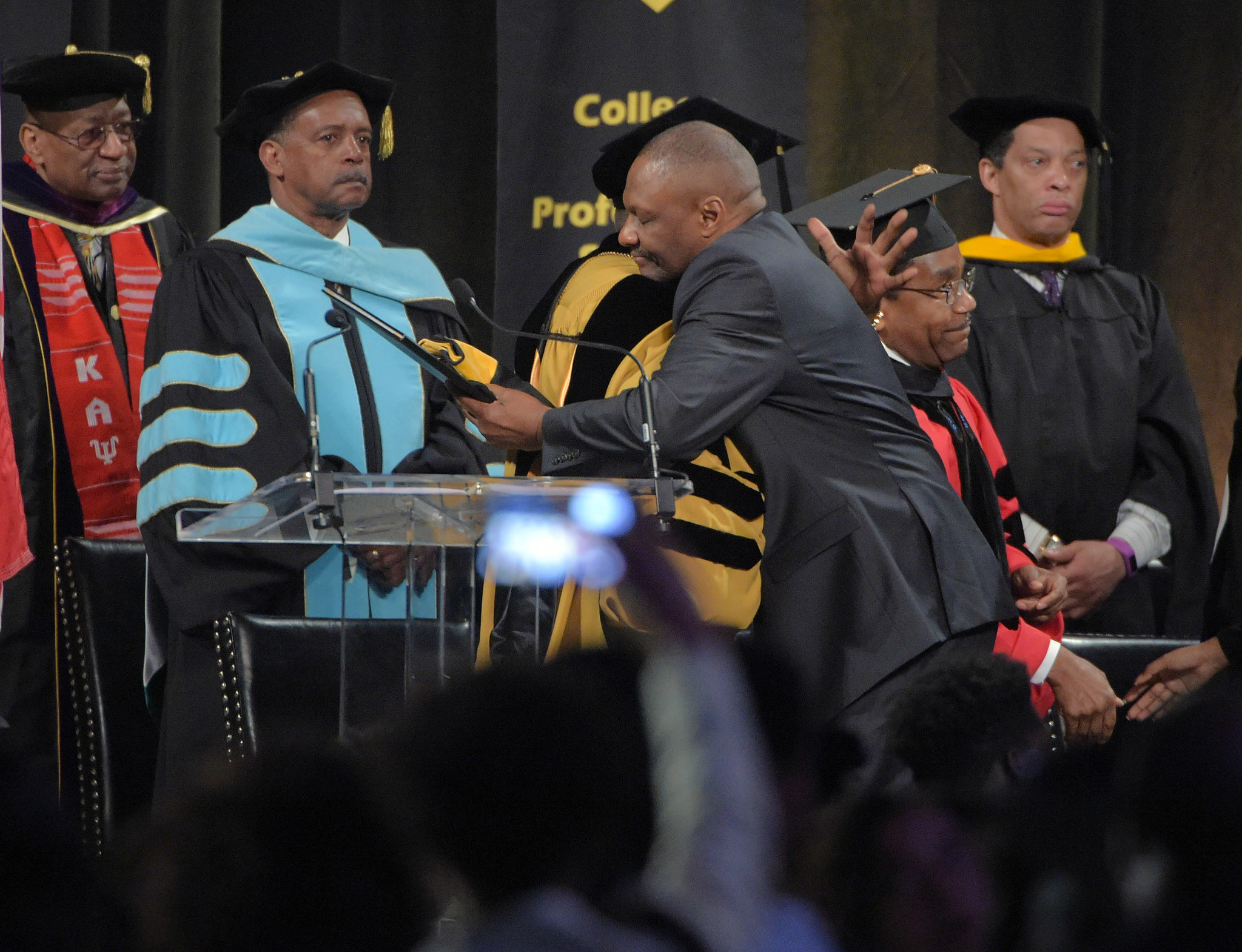Bowie State awards posthumous degree to slain student at ...