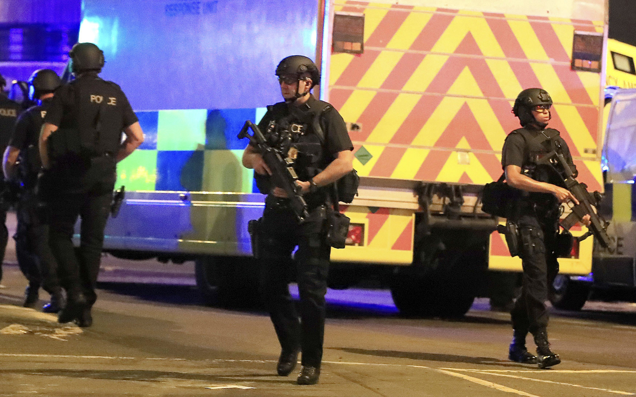 A heinous act of evil in Manchester