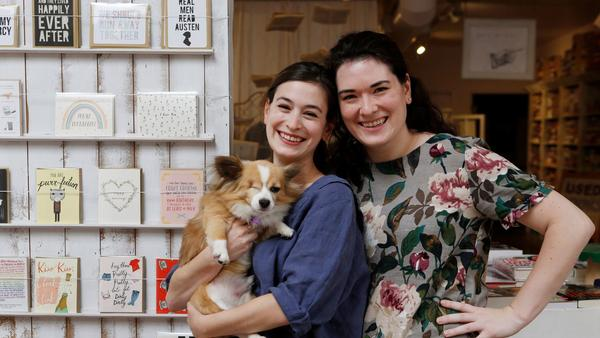 Two sisters turned their passion into the Ripped Bodice, America's only romance-only bookstore