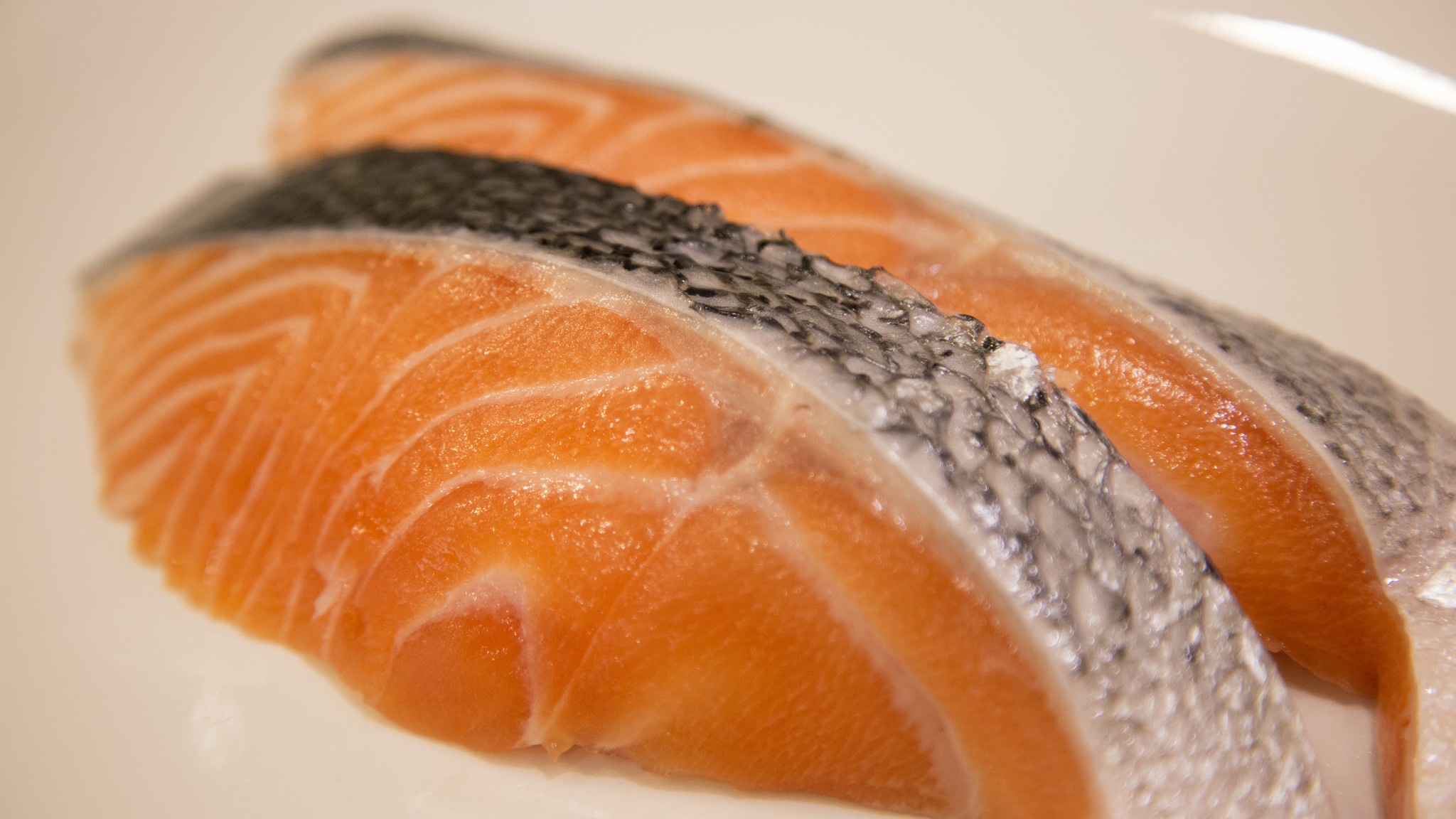 Most farm-raised salmon is considered unsustainable.