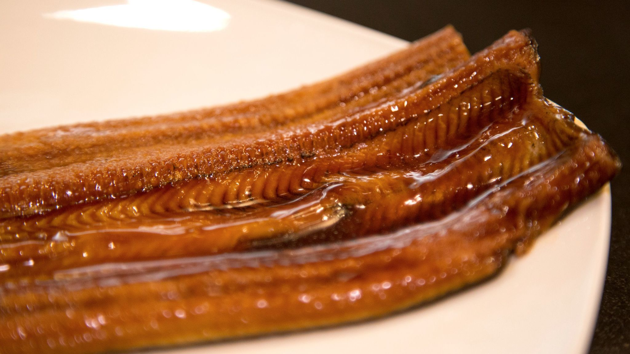 Eel is considered an unsustainable species.