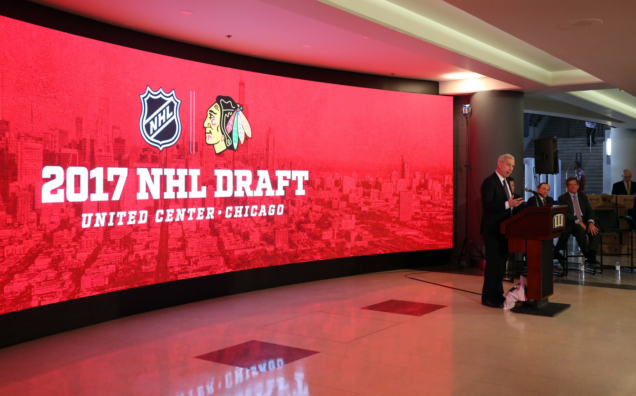 Blackhawks Unveil Plans For Next Months NHL Draft In Chicago