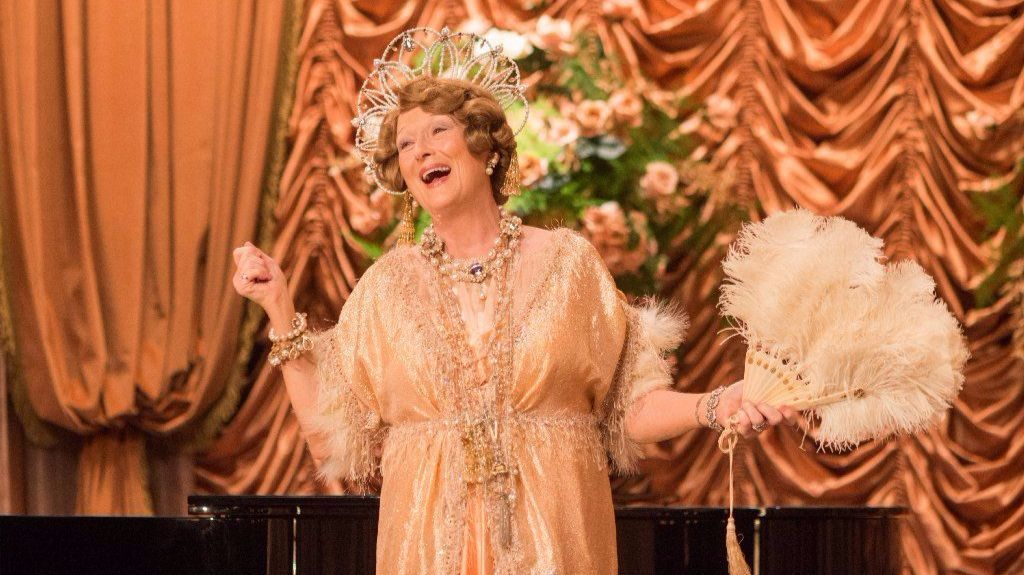 "Meryl Streep in ""Florence Foster Jenkins."""