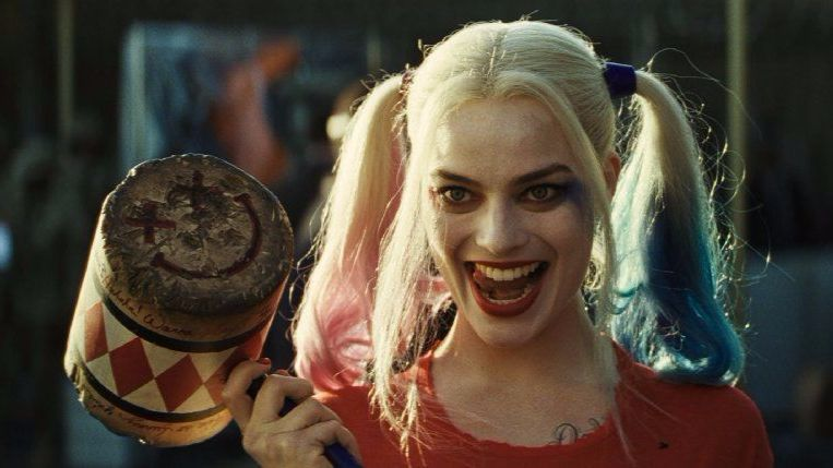 """Margot Robbie as Harley Quinn in """"Suicide Squad."""""""