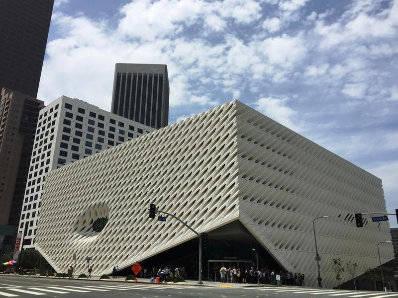 The Broad. (C. Reynolds/Los Angeles Times)
