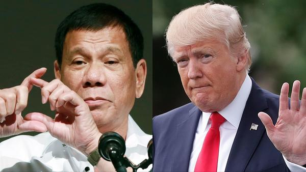 Trump reveals location of 2 nuclear submarines to Philippines' president
