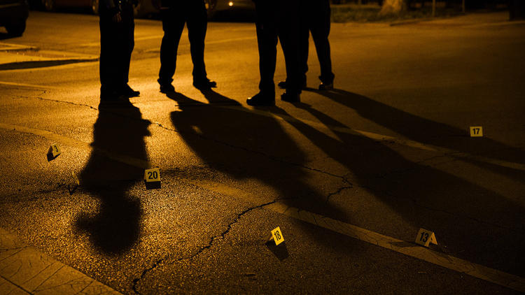Four teenage boys shot in over four hours