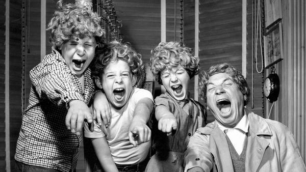 From the Archives: Harpo Marx and kids