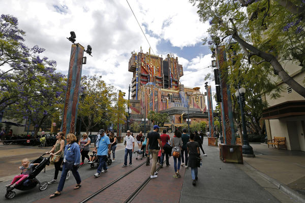 How Disney fit a Guardians of the Galaxy space age power plant into a theme park