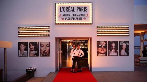 Olivier Rousteing hits L'Oréal Paris Cinema Club party in Cannes